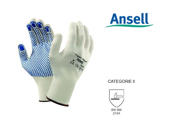 TigerPaw 76-301 Handschoen Mt 8 Ansell