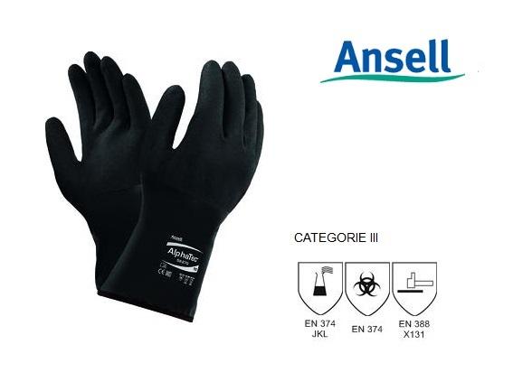 AlphaTec 58-270 Handschoen Mt 8 Ansell