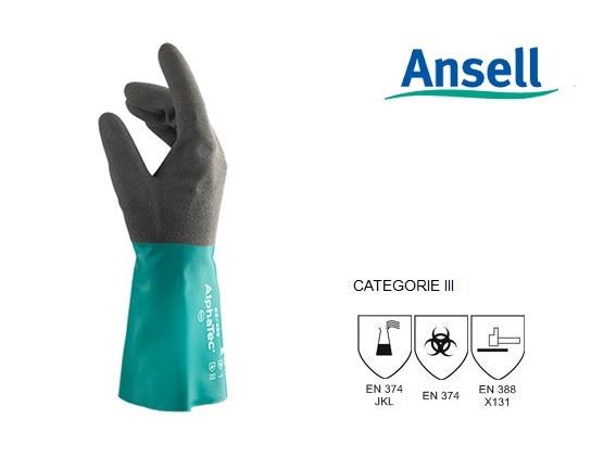AlphaTec 58-430 Handschoen Mt 9 Ansell