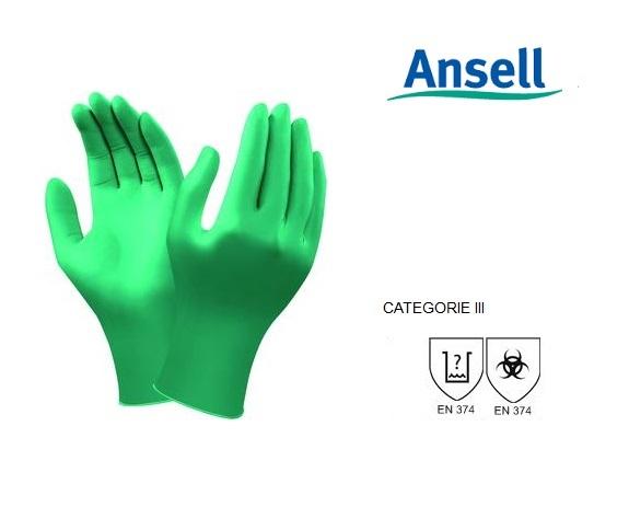Ansell TouchNTuff 92-600 Handschoen Mt 8,5-9 Ansell