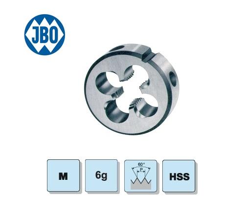 JBO Ronde snijplaat DIN EN22568 B M1 HSS 6H