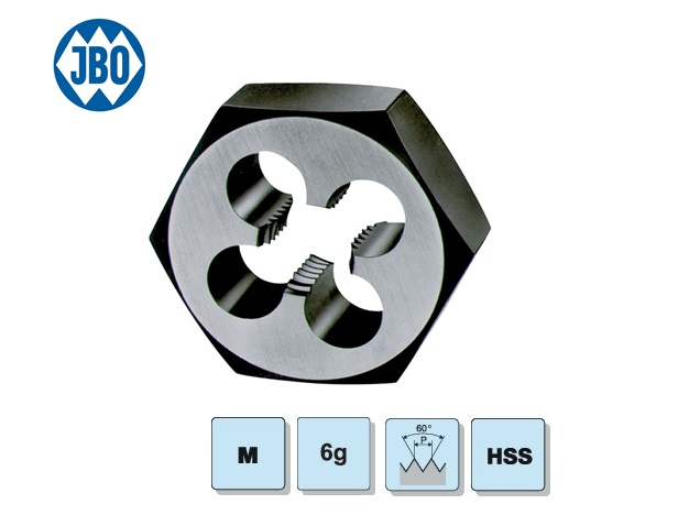 Zeskant Snijmoer DIN382 M3-05 HSS 6g