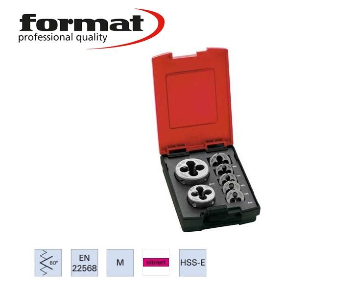 Ronde snijplaat DIN EN22568 Form B-VA M3 HSS-CO 6g