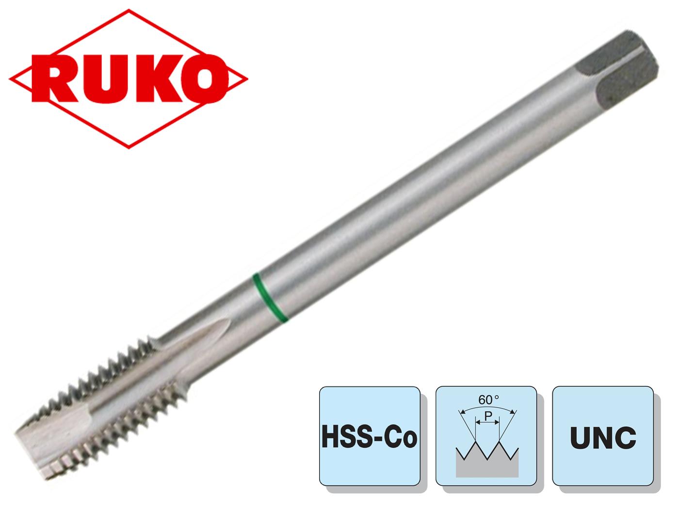 Machinetappen HSSE-Co 5 DIN376 B Through doorvoerschroefdraad UNC 7/16