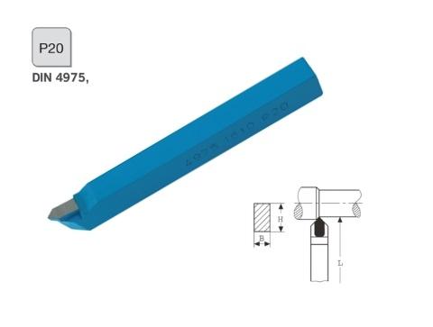 Rechte puntdraaibeitel 16x10 DIN 4975 P20