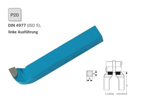 Zijbeitel 16x16 DIN 4977 Links P20