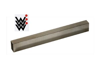 Rechthoekige toolbit DIN 4964 HSS-CO10 6x4x100mm