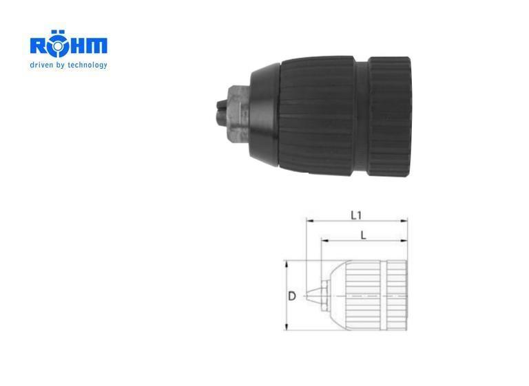 Rohm Boorkop Extra RV 1,5-13mm 3/8x24mm RÖHM 767657
