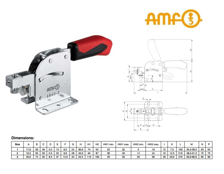 AMF Combispanner Gr.1 Nr 6860