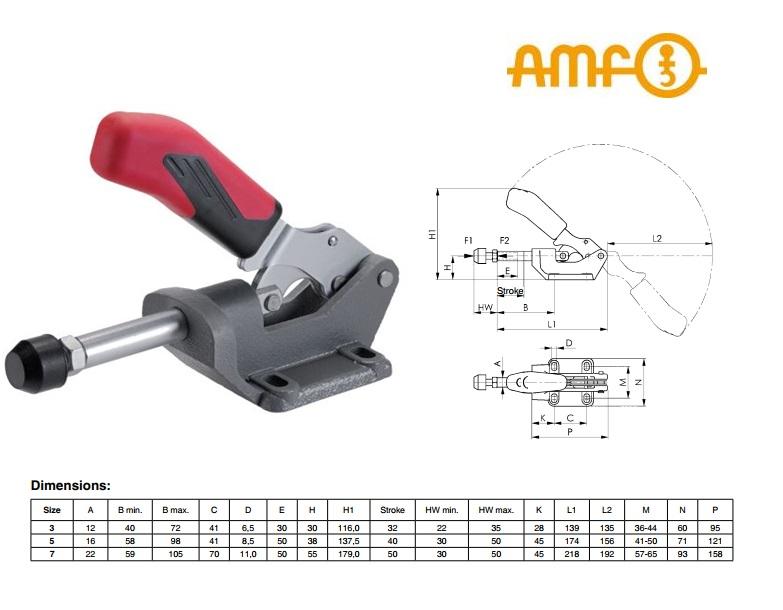 AMF Drukstangspanner Druk-/trekspanner Gr 3 Nr 6842