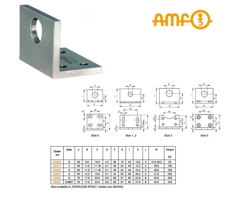 AMF Haakse voet Gr.0 Nr 6843