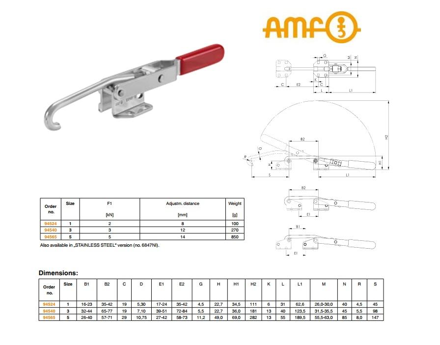 AMF Sluitspanklem Gr.1 nr.6847