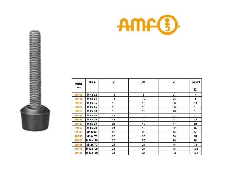 Aandrukschroef Nr.6894 AMF M4x32