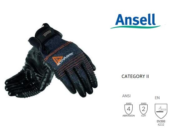 ActivArmr 97-008 Handschoen Mt 9 Ansell