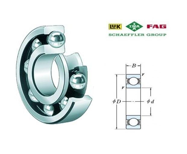 FAG 7201-B-TVP Hoekcontactkogellager d=12, D=32, B=10