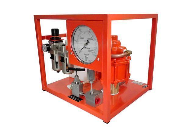 Lucht aangedreven hydrotest pomp - standaard Hi Force AHP425