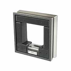 Machine raamwaterpas , 100 mm, 0,3 mm / m, Röckle