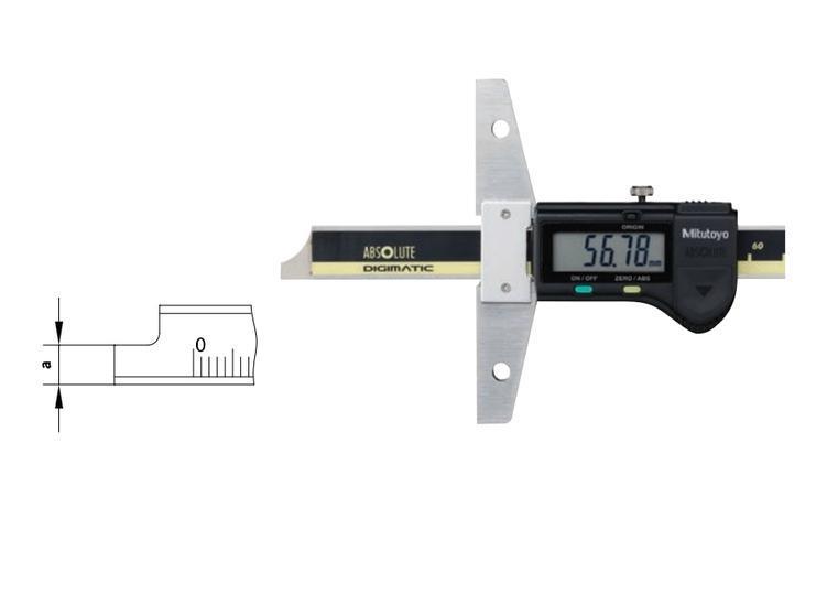 Digitale Diepteschuifmaat 0-150mm Mitutoyo 571-201-20