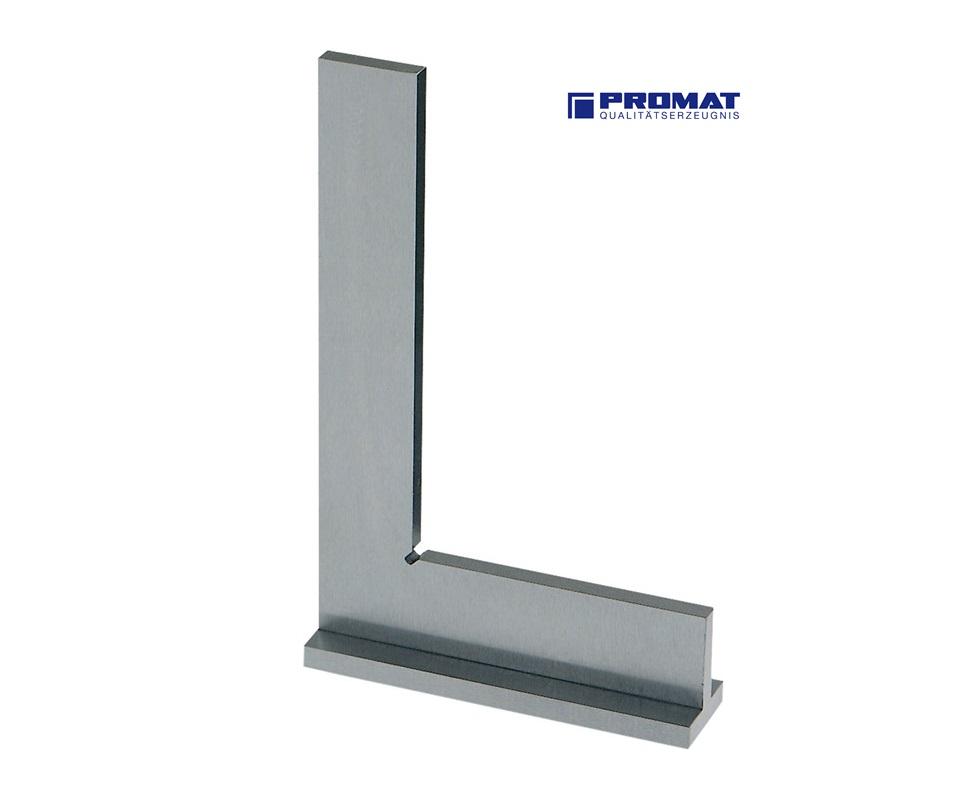 Precisie-winkelhaak met aanslag 100x70mm DIN875/1 staal Promat 4000858436