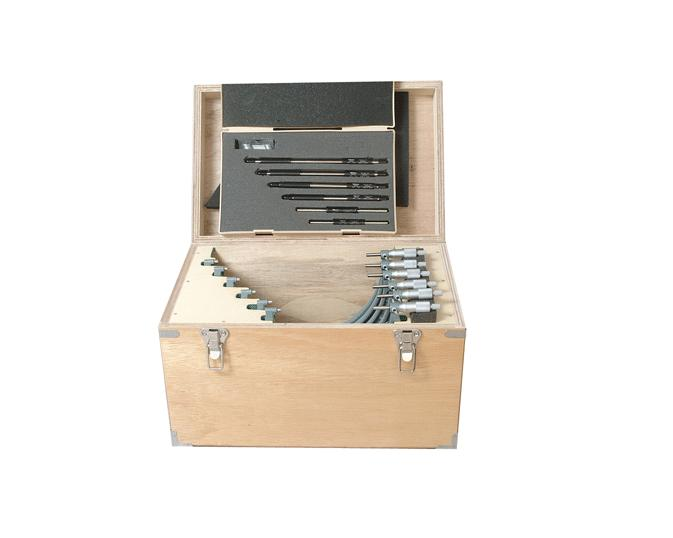 Buitenschroefmaten Analoog set 150-300mm 6-delig Mitutoyo 103-915-10