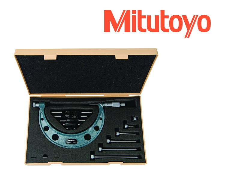 MITUTOYO Buitenschroefmaat met verwisselbare meetstiften 150-300mm Mitutoyo 104-136A