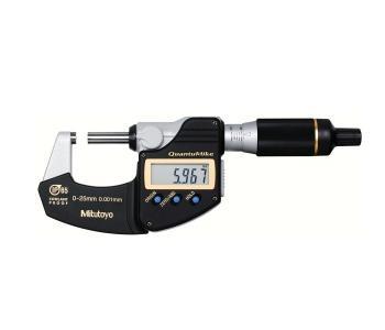 Buitenschroefmaat QuantuMike IP 65 0-25 mm Mitutoyo 293-145