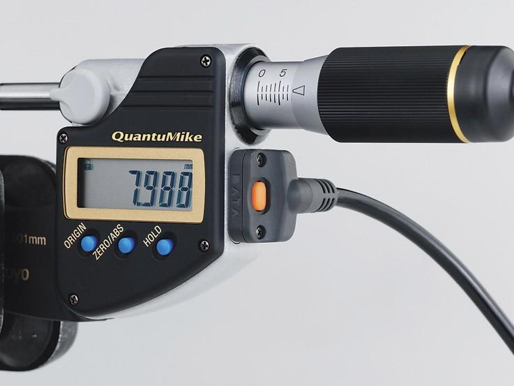 Buitenschroefmaat QuantuMike IP 65 0-25mm Mitutoyo 293-140