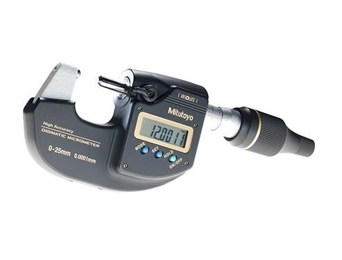 Buitenschroefmaat digitaal 0-25 mm data uitgang Mitutoyo 293-100