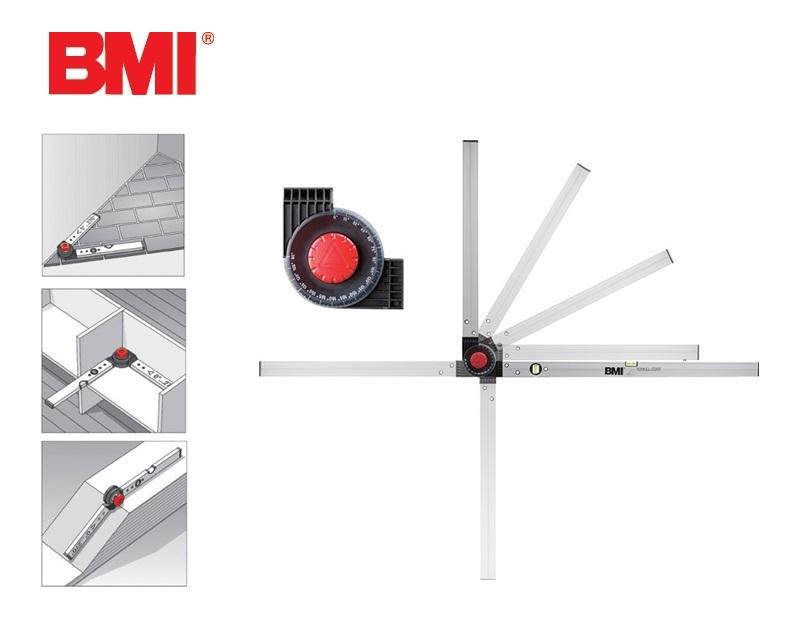 Bouwhoekmeter Winkelstar 0-180Grad 60/80cm