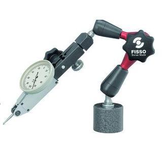 Magnetische meetstatief 210 mm voet Ø 30 x 25 mm FISSO XS13.20