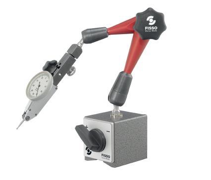 Magnetische meetstatief 390 mm voet 60x50x55 mm FISSO M-28.10