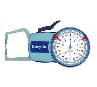 Kroeplin Quicktest Buitenmeter mechanisch 0 tot 10 mm D110