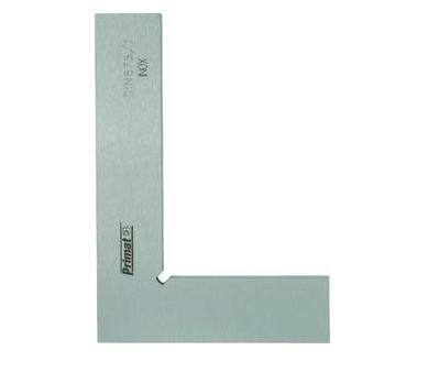 Precisie-winkelhaak 100x70mm, DIN875 / 1 RVS