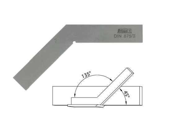 Verstekwinkelhaak 135 50x50 mm , DIN875/II