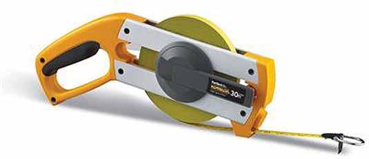 Komelon meetband FastBack Alu 30mx13mm staal/nylon