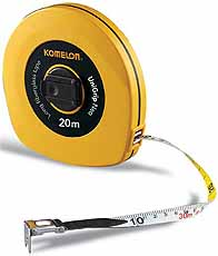 Komelon meetband UniGrip Neo 20mx13mm glasfiber,
