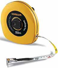 Komelon meetband UniGrip Neo 50mx13mm glasfiber haak/ring