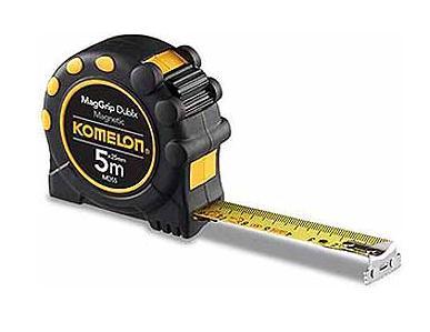 Komelon rolbandmaat MagGrip Dublx, 3mx16mm, magnet. haak, 2-zijdig bedruk