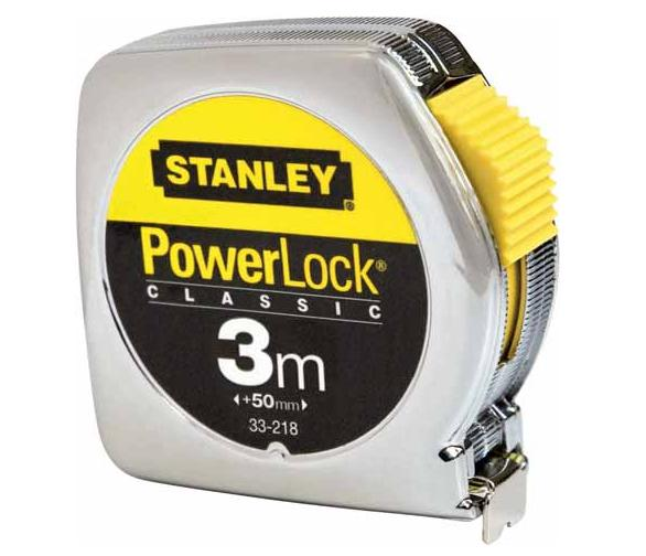Rolbandmaat Gr Powerlock 3mtr 1-33-218 Stanley