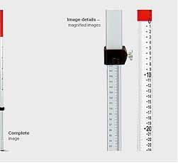 Aluminium Telescopische Meetlat(Flexibar),BMI 705 213 00