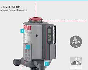 topoMAT IPX5 Laser,BMI 648 02N SET
