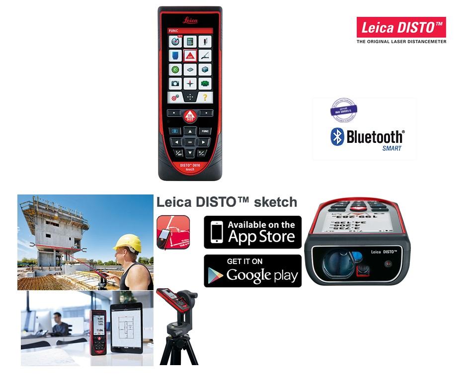 Leica DISTO D810 Laserafstandsmeter Leica 792297