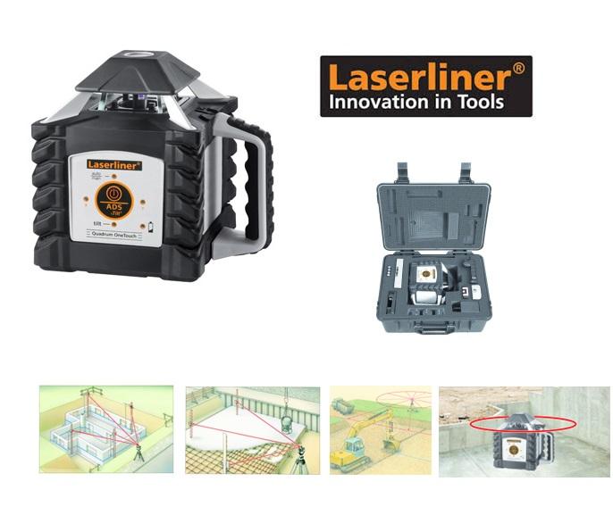 LASERLINER Rotatielaser Quadrum OneTouch 410S