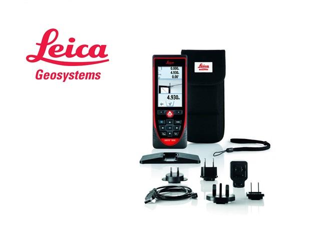 Leica Disto laserafstandsmeter S910, P2P puntzoeker, 4x dig. zoom, X-Range Power, Serienr..