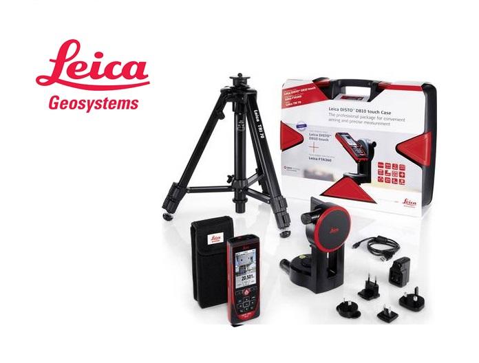 Leica Disto D810 set: Disto D810, adapter FTA360, statief TRI70 in sterke koffer. ..