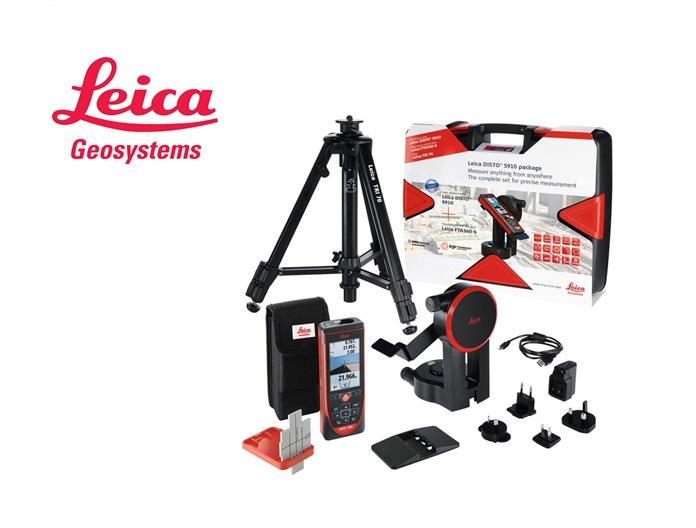 Leica Disto S910 set: Disto S910, adapter FTA360, statief TRI70, GZM3 doelplaat, incl koffer.