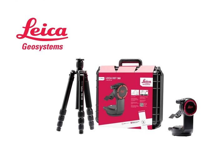 Leica Disto laserafstandsmeter X4, KIT in koffer compleet met DST360 inclusief TRI120 statief