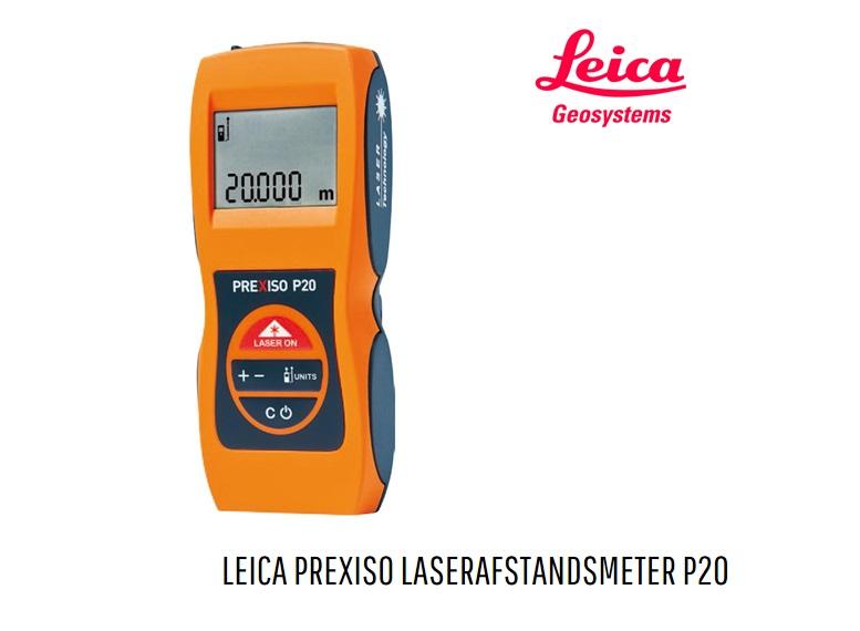 Leica Prexiso Prexiso P20 Laserafstandsmeter 808085