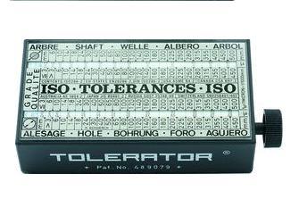 Tolerator ISO Tolerantietabel 60x30x110mm