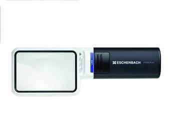 Mobilux Handvergrootglas LED, 4- vergroting, ESCHENBACH 15114